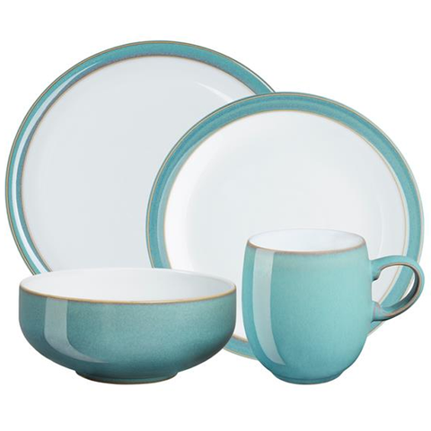 Denby Azure 4-Piece Set