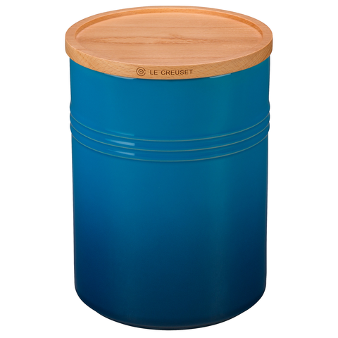LE CREUSET 4'' LARGE STORAGE CANISTER - MARSEILLE
