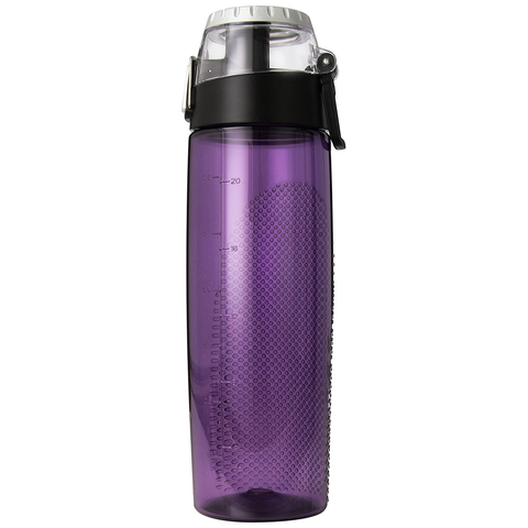THERMOS 24-OUNCE TRITAN HYDRATION BOTTLE WITH METER, PURPLE