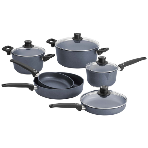 WOLL DIAMOND PLUS 10-PIECE COOKWARE SET