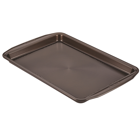 Circulon 10 x 15-Inch Cookie Pan, Chocolate Brown