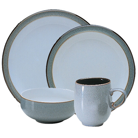 Denby Jet Grey 4-Piece Set