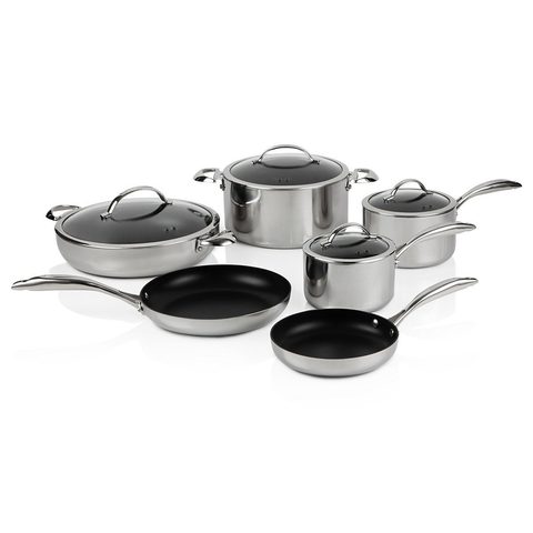SCANPAN CTP 10-PIECE COOKWARE SET