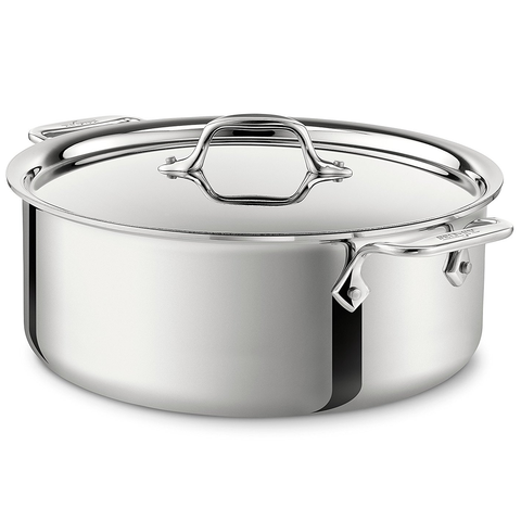 ALL-CLAD STAINLESS STEEL 6-QUART STOCKPOT