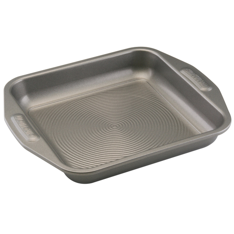 CIRCULON 9'' SQUARE CAKE PAN - GRAY