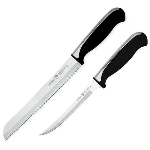 J.A. HENCKELS INTERNATIONAL FINE EDGE SYNERGY 2-PIECE BREAD KNIFE SET