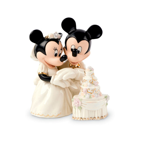 Lenox Minnie's Dream Wedding Cake Figurine