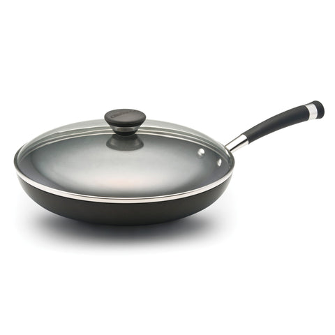 CIRCULON ACCLAIM HARD ANODIZED NONSTICK 12'' COVERED DEEP SKILLET