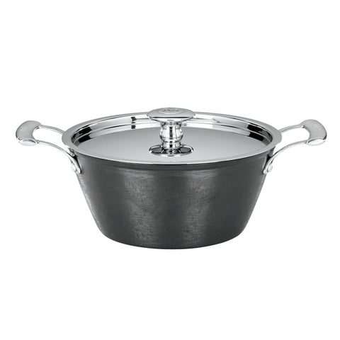 Mario Batali Pre-Seasoned Light Cast Iron 3-Quart Round Casserole by Dansk