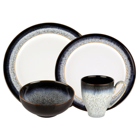 Denby Halo 4-Piece Place Setting, Blue