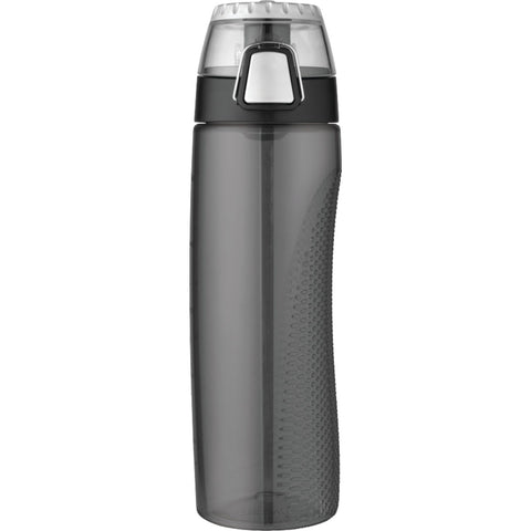 Thermos 24 Ounce Tritan Hydration Bottle with Meter, Smoke