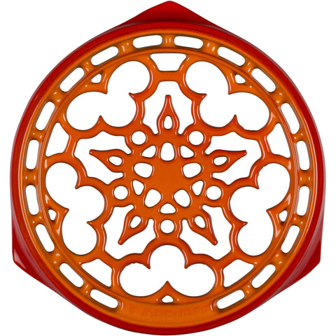 LE CREUSET 9'' DELUXE ROUND TRIVET - FLAME