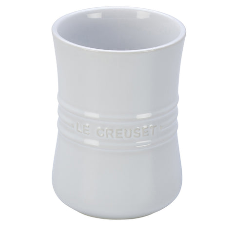 LE CREUSET 1-QUART UTENSIL CROCK - WHITE