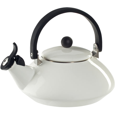 LE CREUSET 1.6-QUART ZEN KETTLE, WHITE
