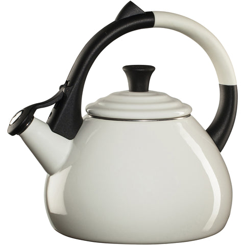 LE CREUSET 1.6-QUART OOLONG KETTLE - WHITE