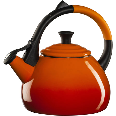 LE CREUSET 1.6-QUART OOLONG KETTLE - FLAME