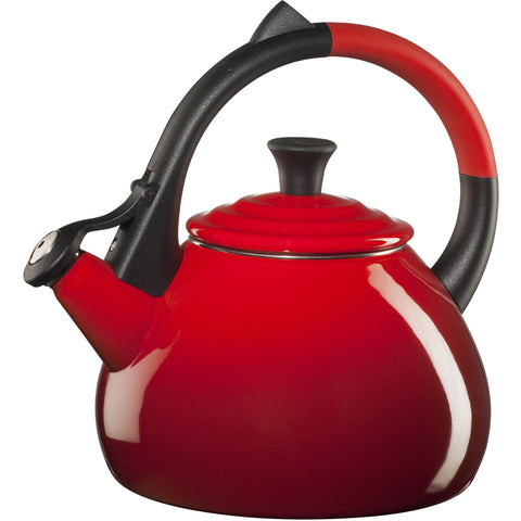 LE CREUSET 1.6-QUART OOLONG KETTLE - CERISE