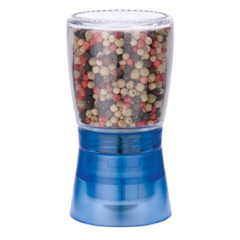 MIU France Glass and Plastic Spice Grinder with Ceramic Gear, Blue