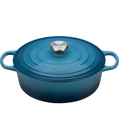 Le Creuset Oval 6.75-Quart Dutch Oven - Marine
