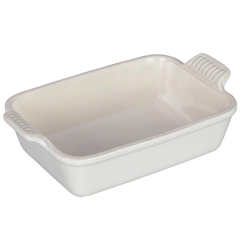 Le Creuset Heritage 2.5-Quart Rectangular Dish - Cotton White