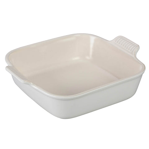 Le Creuset Heritage 9'' Square Dish - Cotton White