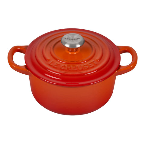Le Creuset Round 1-Quart Dutch Oven, Flame