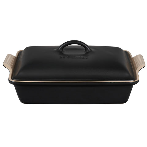Le Creuset 4 qt. Heritage Covered Rectangular Casserole - Licorice