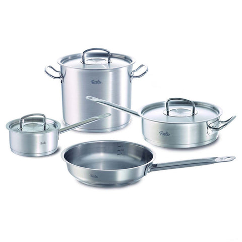 FISSLER ORIGINAL PROFI 7-PIECE STAINLESS STEEL COOKWARE SET