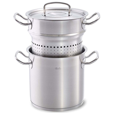FISSLER 6.3-QUART ORIGINAL PROFI MULTI-PRUPOSE PASTA POT AND STEAMER SET