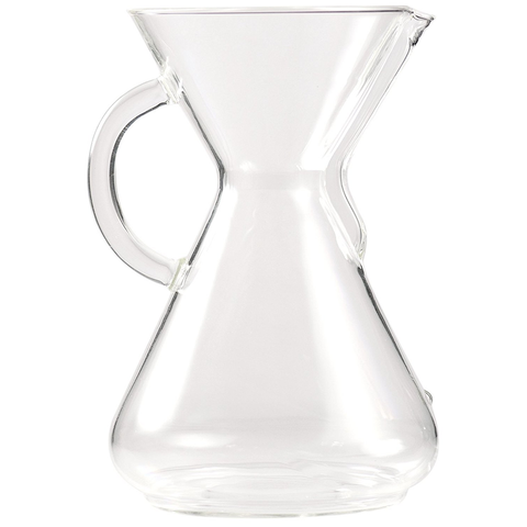 Chemex 10-Cup Coffeemaker with Glass Handle