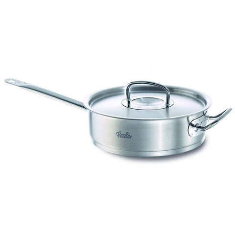 FISSLER 3.2-QUART ORIGINAL PROFI SAUTE PAN WITH LID STICK HANDLE