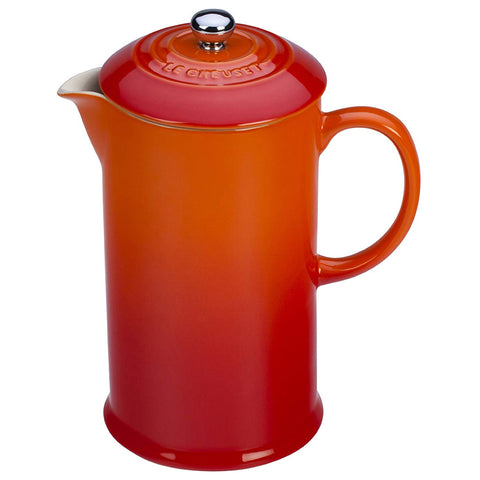 LE CREUSET FRENCH PRESS - FLAME