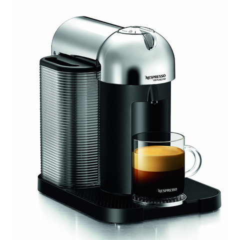 Nespresso GCA1-US-CH-NE VertuoLine Coffee and Espresso Maker, Chrome