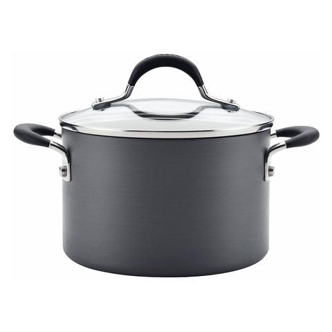 CIRCULON MOMENTUM STAINLESS STEEL 3-QUART COVERED SAUCEPO