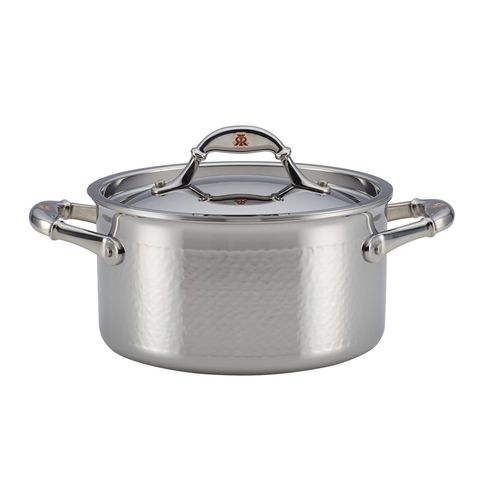 Ruffoni Symphonia Prima 3-1/2-Quart Covered Soup Pot - Stainless Steel