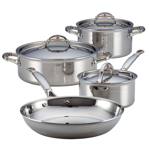 Ruffoni Symphonia Prima 7-Piece Cookware Set - Stainless Steel