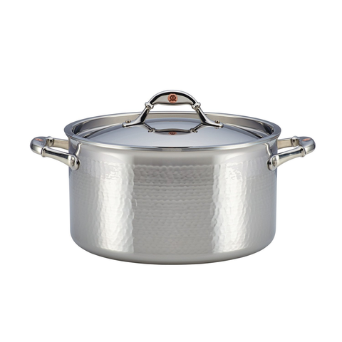 Ruffoni Symphonia Prima 8-Quart Covered Stockpot - Stainless Steel