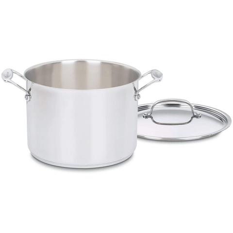 CUISINART CHEF'S CLASSIC™ STAINLESS 8 QUART STOCKPOT WITH COVER