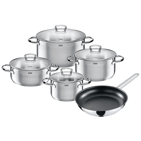 WMF TOSKANA 9-PIECE COOKWARE SET