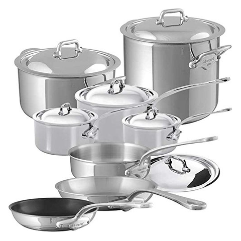Mauviel M'Cook 14-Piece Cookware Set