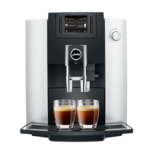 Jura E6 Automatic Coffee Center, Platinum