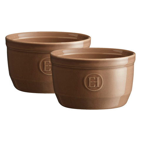 EMILE HENRY 8.5-OUNCE RAMEKIN, SET OF 2 - OAK