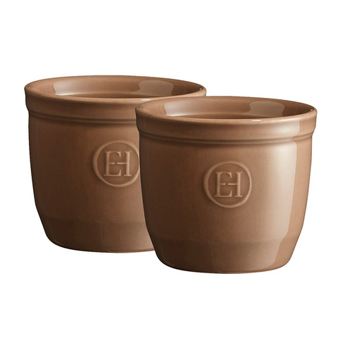 Emile Henry 6.75 oz Ramekin (Set of 2), Oak