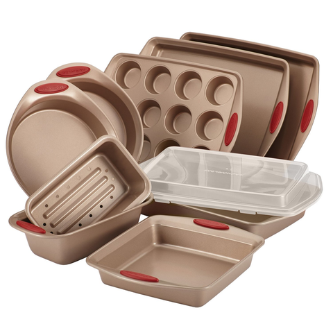 RACHAEL RAY 10-PIECE BAKEWARE SET