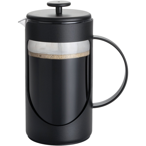 BONJOUR 8-CUP FRENCH PRESS -BLACK