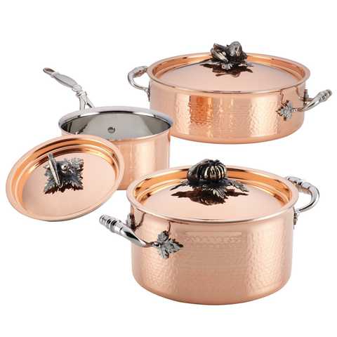 Ruffoni Opus Cupra 7-Piece Cookware Set, Copper