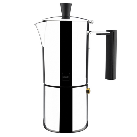 Magefesa Nova Capri Stainless Steel Coffee Maker