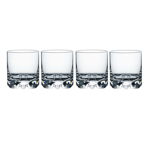 ORREFORS ERIK 11.5 OUNCE OLD FASHIONED GLASS, SET OF 4
