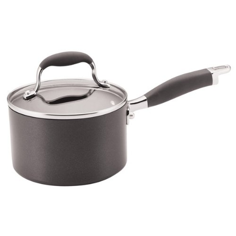 Anolon Advanced Hard Anodized Nonstick 2-Quart Covered Saucepan
