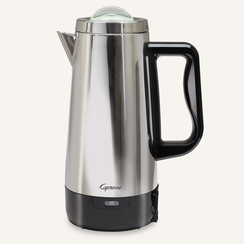 Capresso 405.05 12 Cup Perk Coffee Maker, Metallic